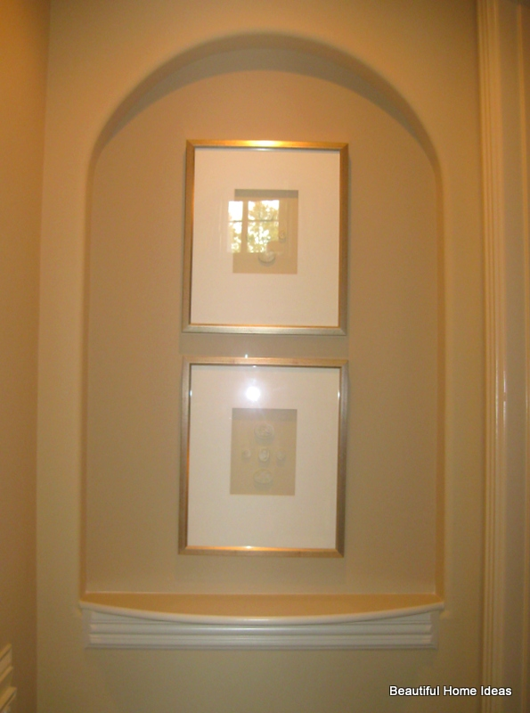 Niches display art artifacts without taking up floor space - Wall niches ...