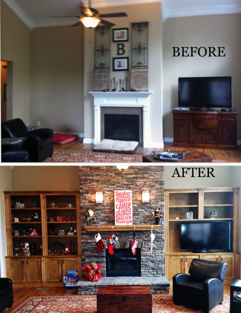 Home Makeover Before amp After The Reveal Nashville TN