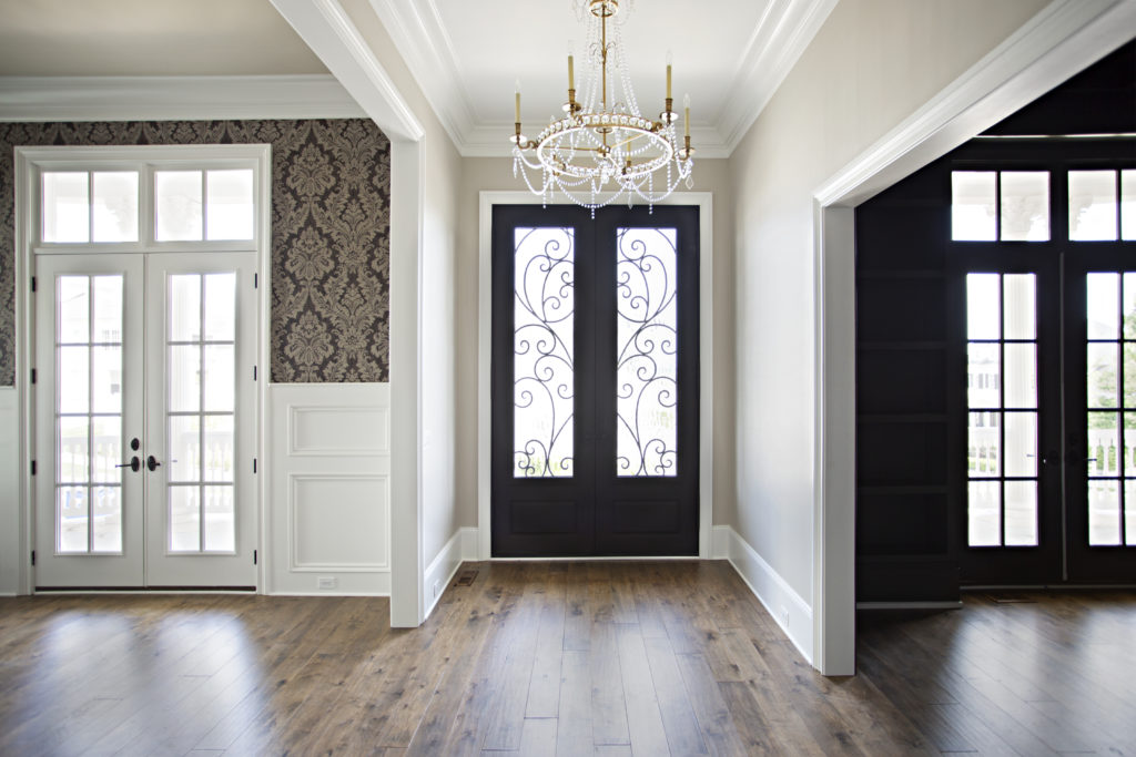 Timeless hardwood floor color with satin finish by textures nashville