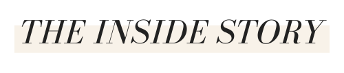 The Inside Story email newsletter by Textures Nashville
