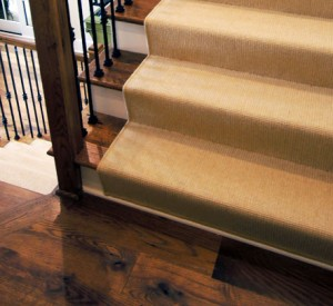 Ribcord Maize Stair Runner