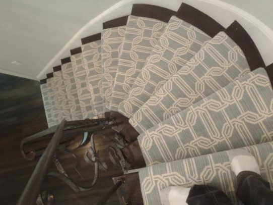 Stair Runners- A Nashville Custom Look